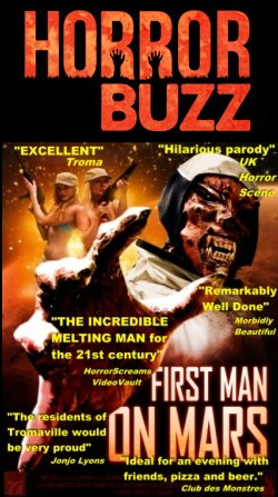 first man on mars horror buzz review